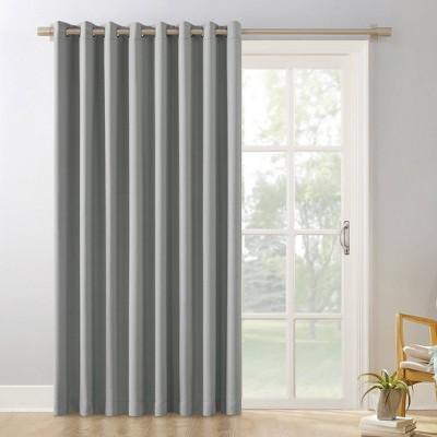 patio door curtain rods target