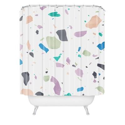 mareike boehmer terrazzo shower curtain deny designs