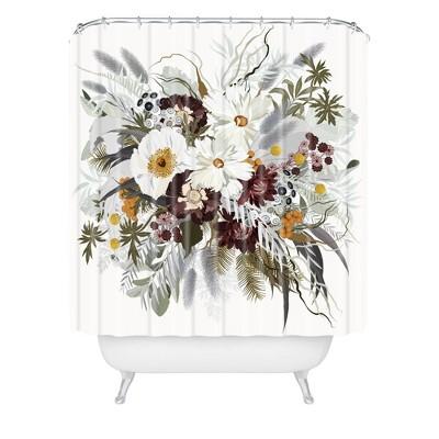 iveta abolina ruby autumn shower curtain white deny designs