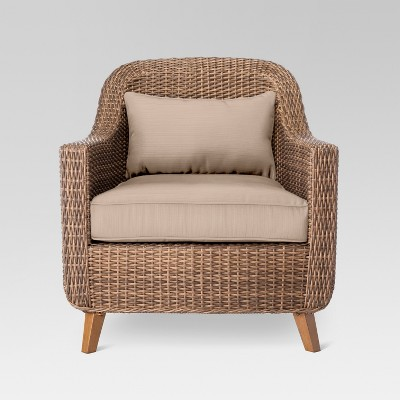 white wicker chair target online