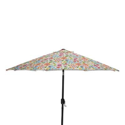 multicolored patio umbrellas target