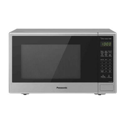 panasonic 1 3 countertop microwave oven stainless steel