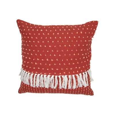 red throw pillow covers target