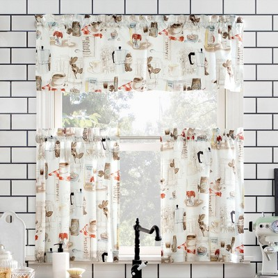 kitchen curtains and valances target