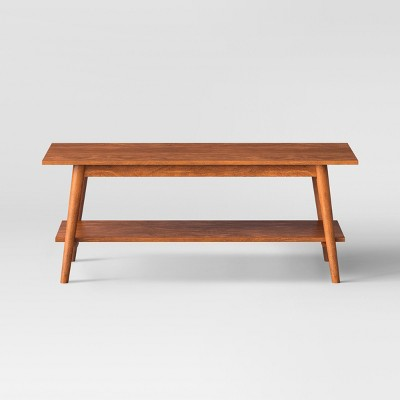 amherst mid century modern coffee table brown project 62