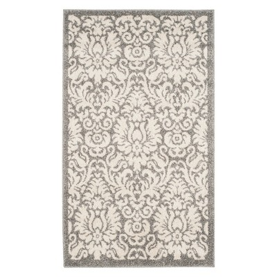 2 6 x4 rectangle patio rug beige light gray safavieh