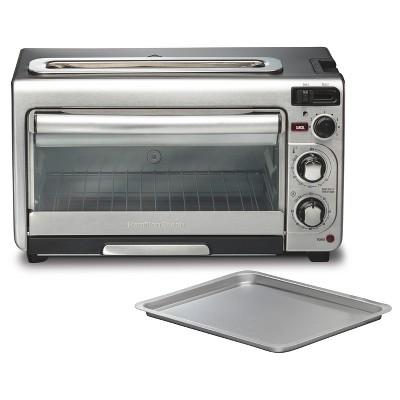 hamilton beach 2 in 1 toaster oven combo