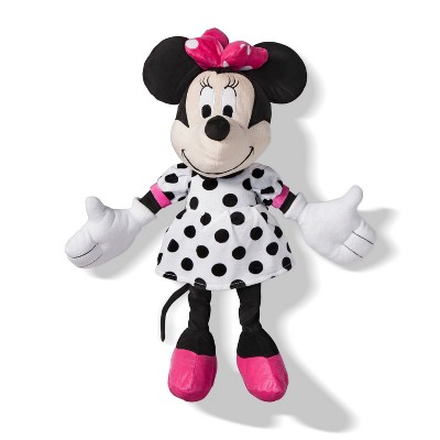 mickey mouse friends minnie mouse throw pillow pink white