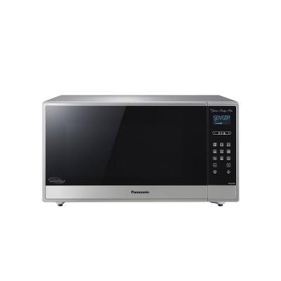 panasonic 1 6 cu ft cyclonic inverter microwave oven silver