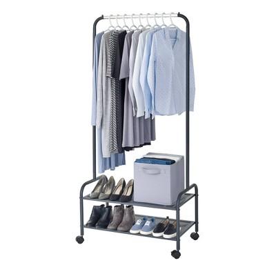 clothing racks and wardrobes target