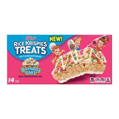 Rice Krispies Treats Birthday Cake Crispy Marshmallow Squares 14ct Target Inventory Checker Brickseek