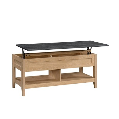 august hill lift top coffee table brown sauder