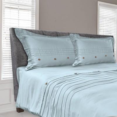tempur pedic standard queen cool luxury pillow protector with zipper closure