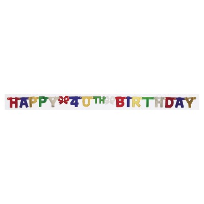 Birthday Party Banner Target