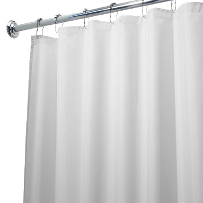 waterproof polyester shower curtain liner idesign