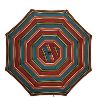 9 outdoor indoor patio market umbrella westport teal brown pillow perfect