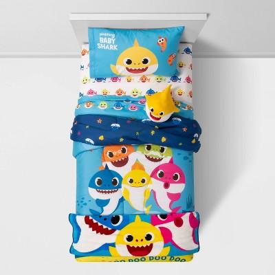 pinkfong baby shark cute cozy ollie cuddle pillow