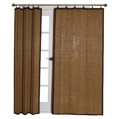 bamboo curtains drapes target