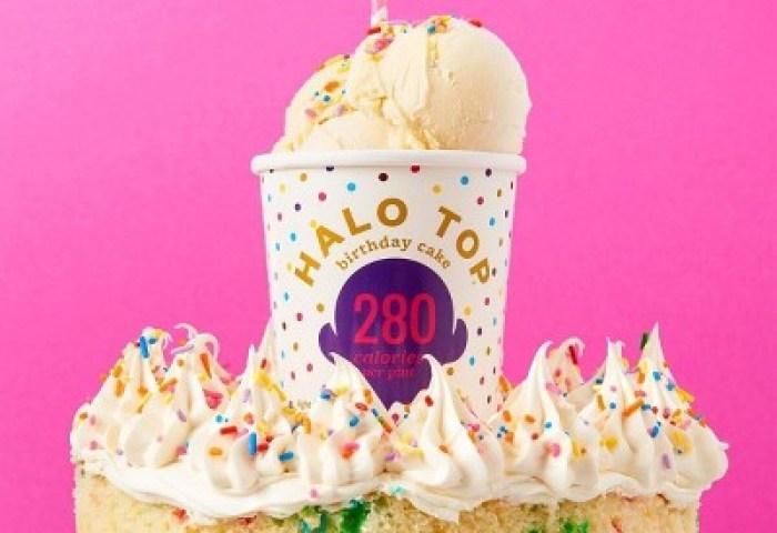 Halo Top Birthday Cake Ice Cream 16oz Target
