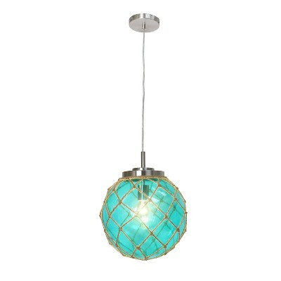 blue pendant lighting target