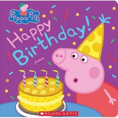 Happy Birthday Peppa Pig By Annie Auerbach Board Book Target