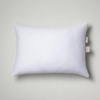 standard queen machine washable firm down alternative pillow casaluna