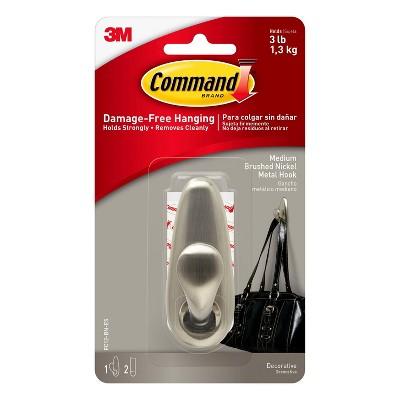 command hooks curtain rod target