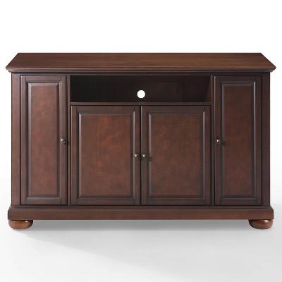 alexandria tv stand vintage mahogany 60 crosley