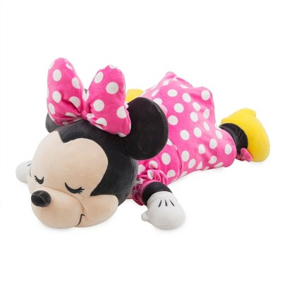mickey mouse friends minnie mouse cuddleez pillow disney store