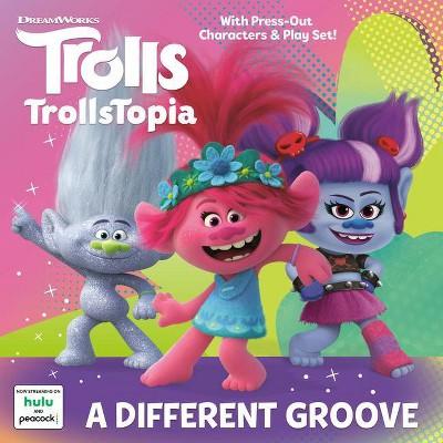 A Different Groove Dreamworks Trolls Pictureback R Paperback Target