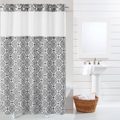 hookless shower curtains target