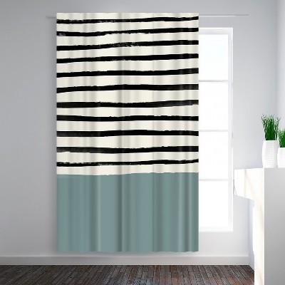 black white window curtains target