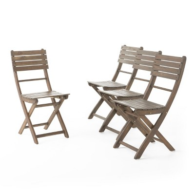 outdoor folding wood chairs target