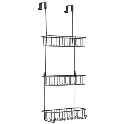 shower caddy tension rod target