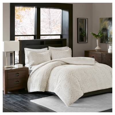 ivory aurora plush down alternative comforter set twin twin xl