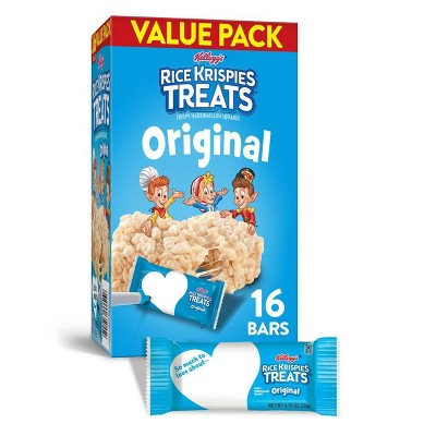 Rice Krispies Treats Original Bars 16ct Kellogg S Target