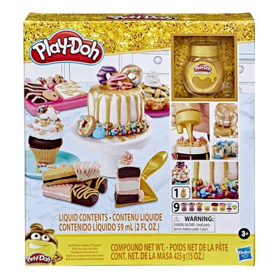 Play Doh Gold Collection Gold Star Baker Playset Target