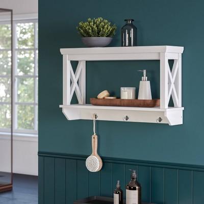 home bathroom shelves target