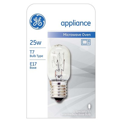 general electric 25w t7 microwave incandescent light bulb