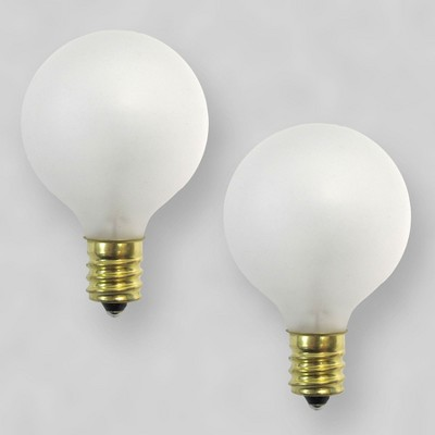 Room Essentials Frosted Globe Lights Replacement Bulbs