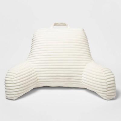 20 x20 cut plush bed rest cream room essentials