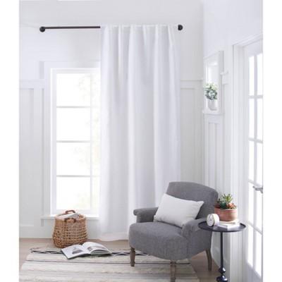 bronze curtain rods target