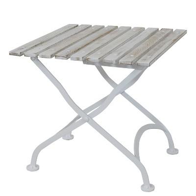 outdoor metal side table target