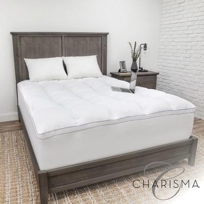fieldcrest luxury mattress topper target