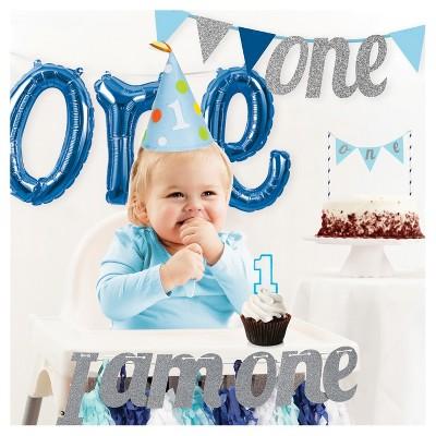 Boys 1st Birthday Party Decorations Kit Target