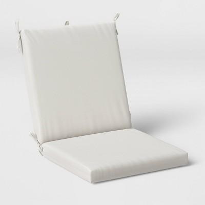 woven outdoor chair cushion duraseason fabric linen threshold