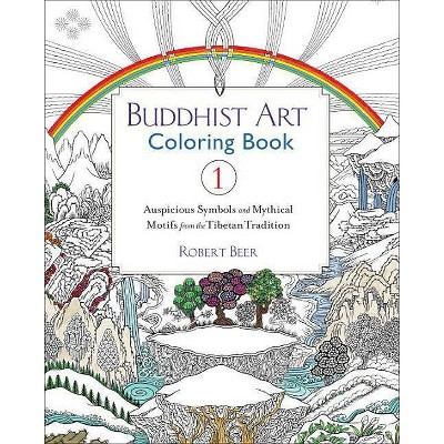 Buddhist Art Coloring Book 1 By Robert Beer Paperback Target