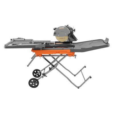 ridgid zrr4092 15 amp 10 in wet tile saw with stand