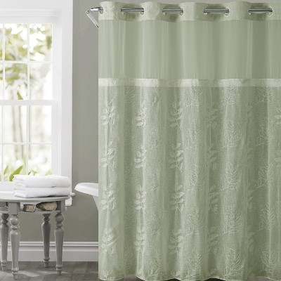 hookless shower stall curtain target