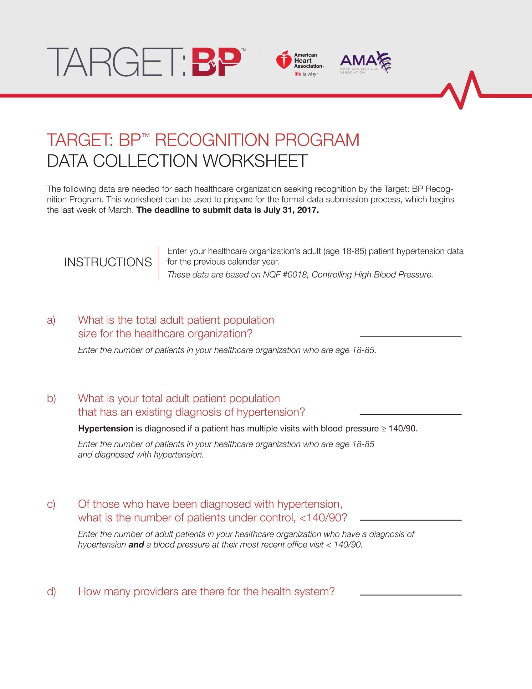 Recognition Program